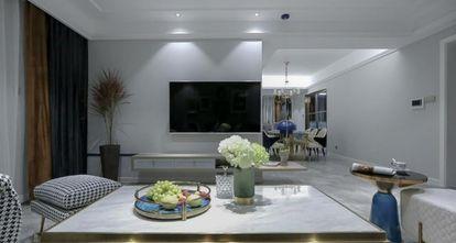 120平米混搭风格客厅欣赏图