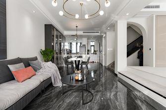 15-20万130平米复式现代简约风格客厅图片大全