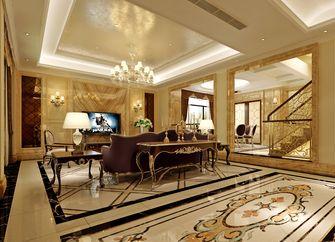 富裕型140平米复式欧式风格客厅图片大全