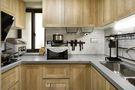 50平米一室一厅日式风格厨房设计图