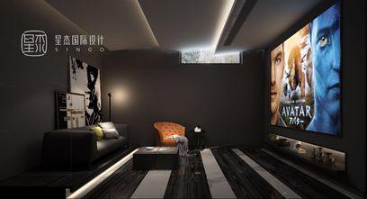 140平米别墅混搭风格影音室图片
