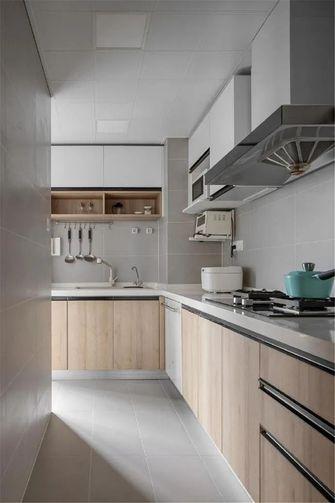 100平米四北欧风格厨房图