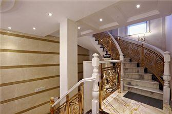 豪华型140平米别墅欧式风格楼梯间图