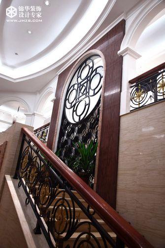 20万以上140平米别墅现代简约风格楼梯图片