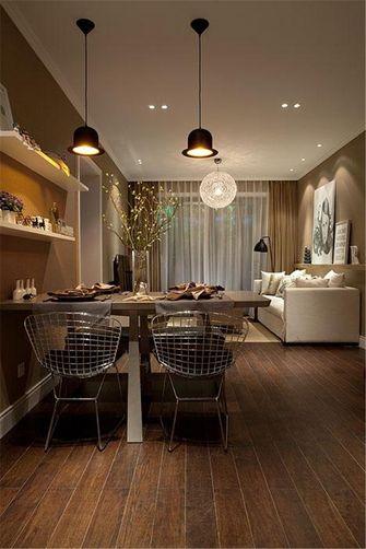 10-15万110平米三室五厅现代简约风格餐厅装修案例