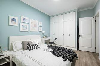 90平米三田园风格卧室设计图