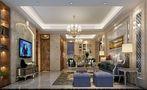 20万以上140平米三室一厅现代简约风格客厅图片