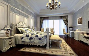 140平米别墅田园风格卧室欣赏图