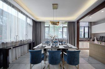 140平米四室三厅中式风格餐厅图片