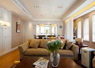 50平米一室两厅美式风格客厅效果图