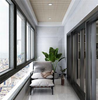 140平米三室一厅其他风格阳台图片大全
