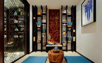 10-15万140平米四室三厅东南亚风格书房图片