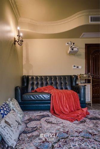 130平米三室两厅地中海风格衣帽间装修图片大全