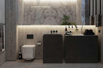 80平米公寓现代简约风格卫生间欣赏图