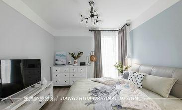 130平米三北欧风格卧室效果图