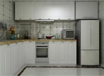 120平米三田园风格厨房装修图片大全