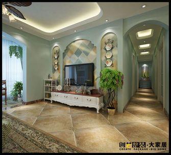140平米四室一厅地中海风格走廊图