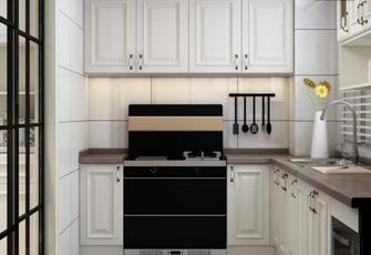 140平米混搭风格厨房效果图