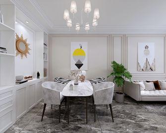 90平米三室两厅美式风格餐厅装修效果图