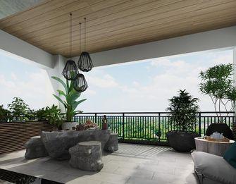 140平米别墅其他风格阳台装修图片大全