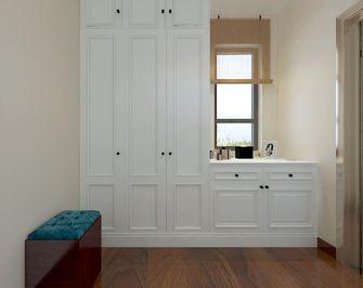 130平米三室两厅中式风格衣帽间欣赏图