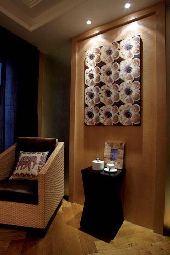 110平米三室两厅东南亚风格书房设计图