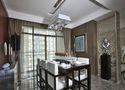 140平米三室四厅中式风格餐厅装修效果图