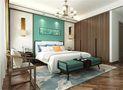140平米三混搭风格卧室装修效果图