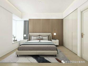 110平米三室两厅现代简约风格卧室图片