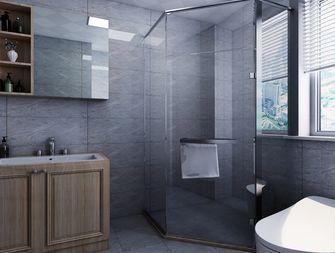 120平米三室两厅北欧风格卫生间装修图片大全