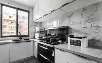130平米三现代简约风格厨房装修图片大全