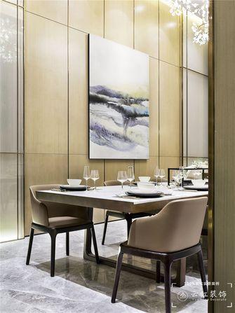 120平米复式现代简约风格餐厅图