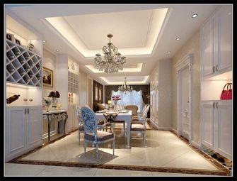 140平米三室两厅欧式风格餐厅装修图片大全