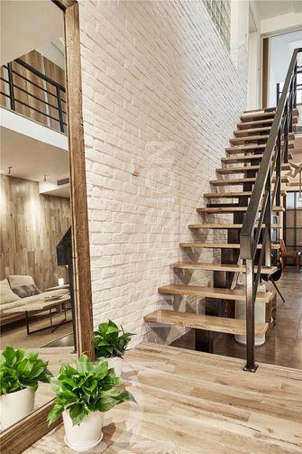 豪华型140平米三室两厅北欧风格楼梯效果图