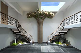 140平米混搭风格楼梯间装修效果图