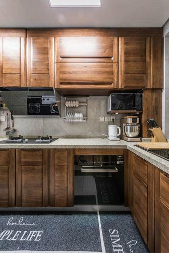 90平米中式风格厨房图