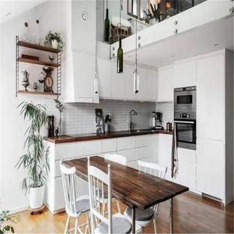 70平米别墅现代简约风格厨房效果图