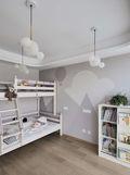 130平米三欧式风格儿童房装修案例
