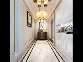 140平米别墅美式风格玄关门口设计图