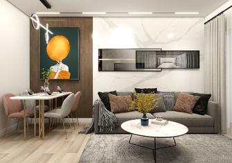 60平米一室一厅混搭风格客厅图片