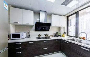 130平米三室两厅田园风格厨房装修图片大全