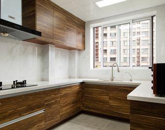 80平米欧式风格厨房橱柜图片大全