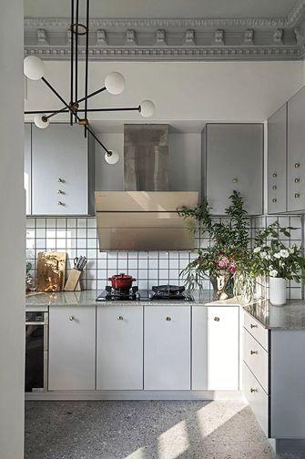 120平米四室两厅美式风格厨房欣赏图