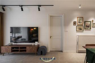 110平米混搭风格客厅装修图片大全