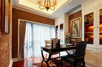 90平米三室两厅新古典风格书房装修图片大全