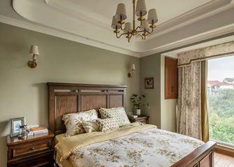 140平米三室一厅田园风格卧室效果图