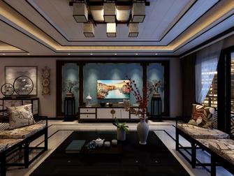 120平米四室一厅中式风格客厅图