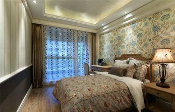 90平米三室两厅田园风格卧室图