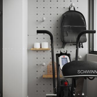 60平米公寓日式风格健身室装修图片大全