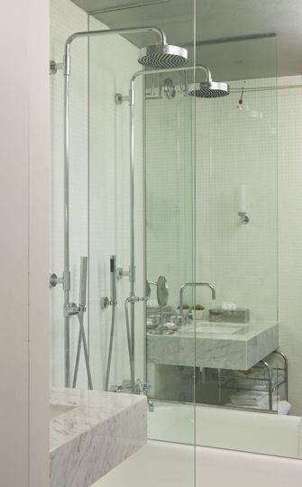 80平米一居室美式风格卫生间装修案例